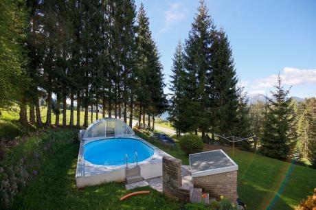 vakantiehuis Apartment Mooswald 11b / Nr 3 in Fresach