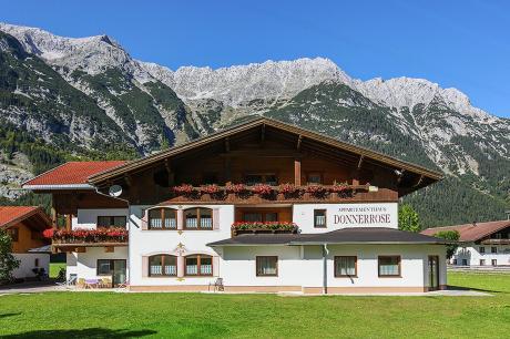 vakantiehuis Donnerrose in Leutasch