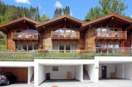 vakantiehuis Drive in chalet in Wald-Königsleiten