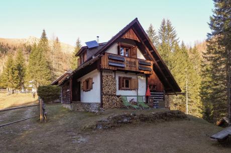 vakantiehuis Almhütte Schmölzer in Sankt Oswald - Bad Kleinkirchheim