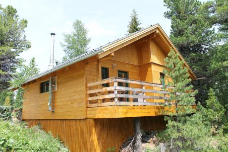 vakantiehuis Chalet Almblick in Turracherhöhe