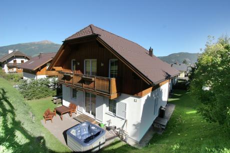 vakantiehuis Chalet Hutberg in Sankt Margarethen im Lungau