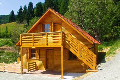 vakantiehuis Almhütte Karawankenpanorama in Liebenfels