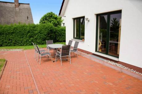 4-Raum-Ferienhaus Walter mit Meerblick