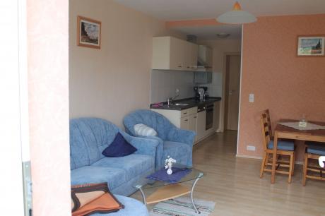 Gemütliche Wohnung Wildgans mit Terrasse