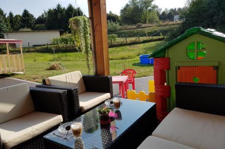 5 Sterne Ferienhaus mit Kamin Rolofshagen