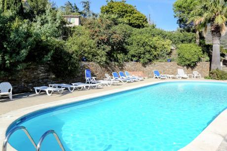 Foto vakantie [field_land_1] -Villa l'Anthémis villa 5 pieces piscine commune
