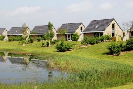 Maaspark Boschmolenplas - Tuinblik